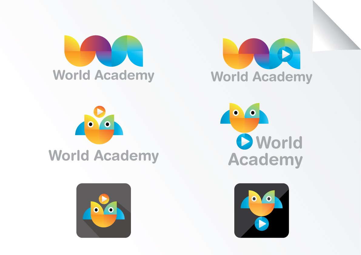 New logo wanted for World Academy, or worldacademy.tv