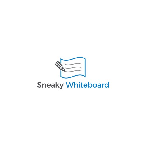 Create a unique design for our new company: Sneaky Whiteboard!
