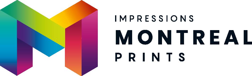 Logo design for a Montreal-based online print shop