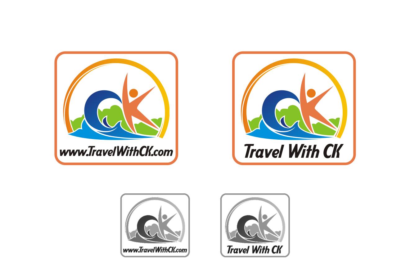 Button or ICON for Travel Company - Fun and Adventure