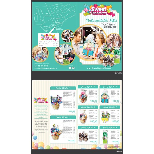 Sweet Xpectations Corporate Brochure