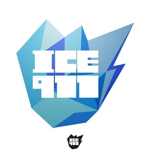 ICE911 logo design