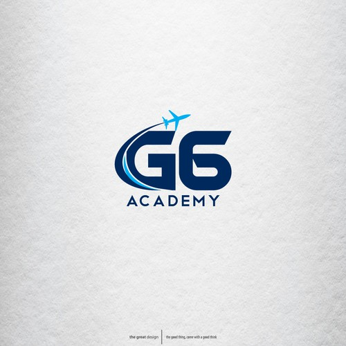 logo concept for G6 Academy