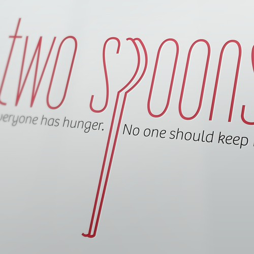 Two Spoons Restaurant Seeking Logo