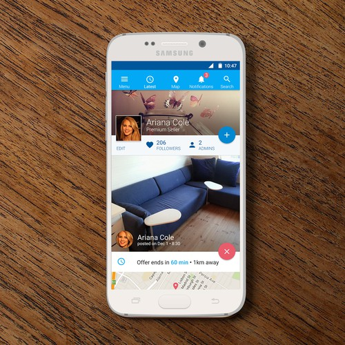 Consumer Android App - Social Shopping for Used Goods in Scandinavia