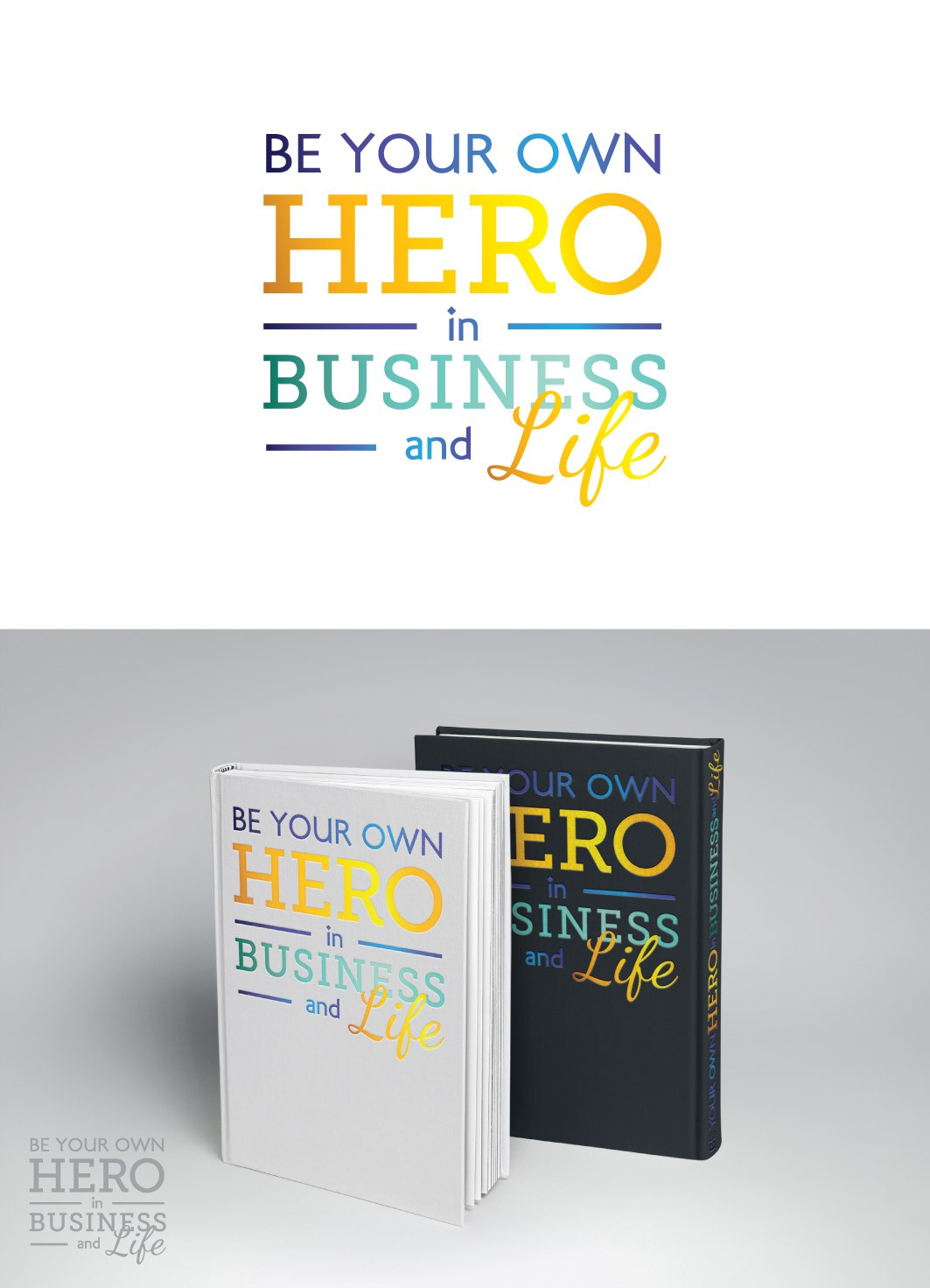 Create Winning Logo for Business Book & Podcast