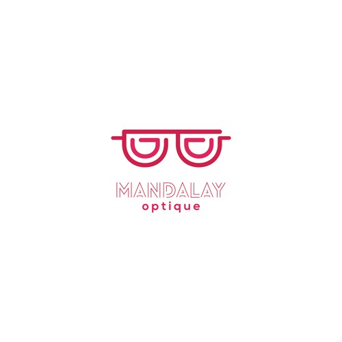 Logo for mandalay optique