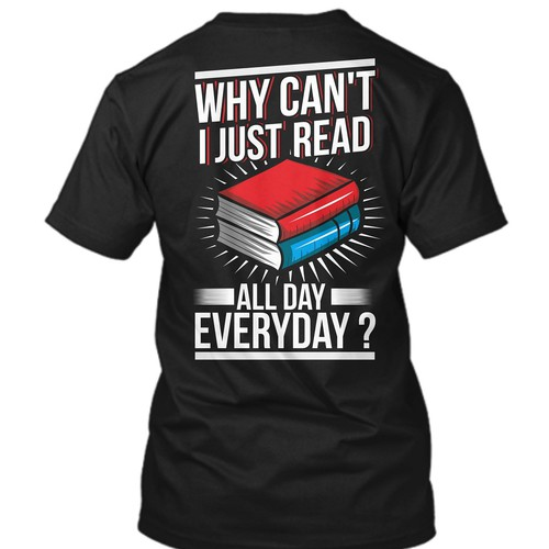 tshirt Design for Booklovers Teespring