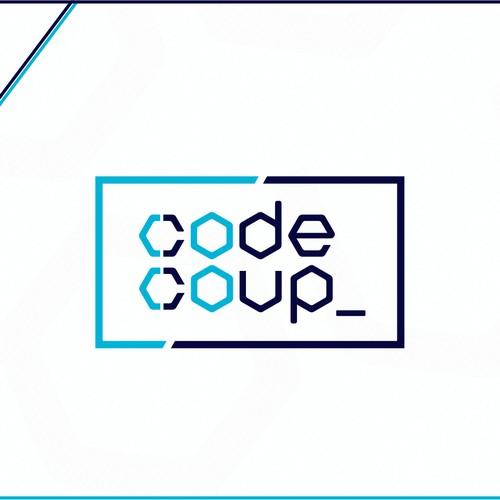 Logo design for a coding school