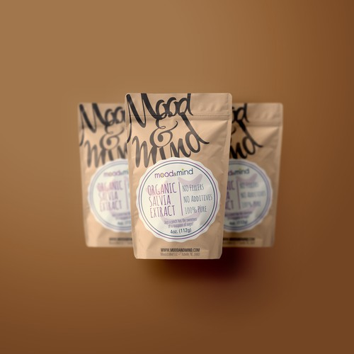 Packaging for organic suplement
