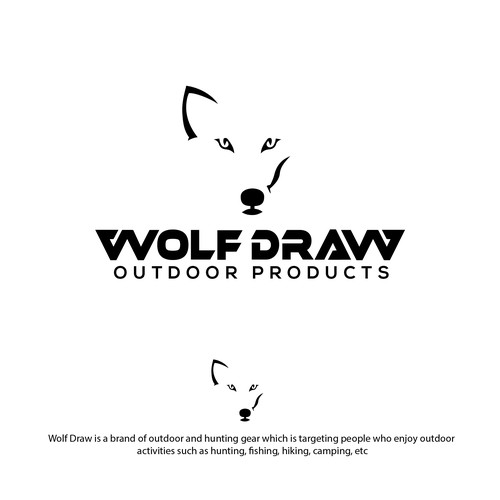 logo for wolf draw