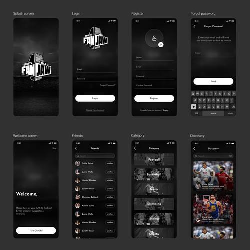 Create an Amazing Sports App theme!