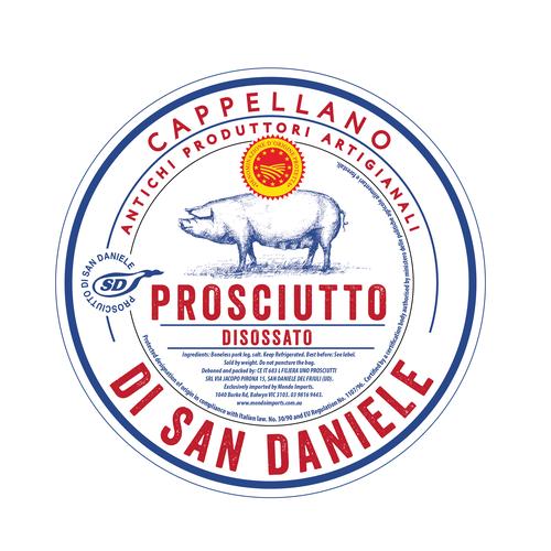 Prosciutto label
