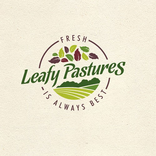 leafy pastures