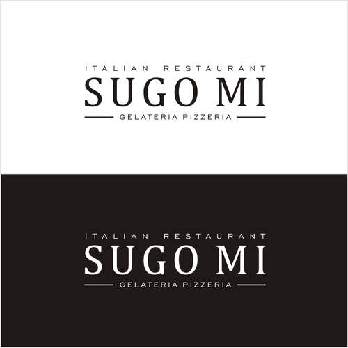 Logo concept for Italian Restaurant