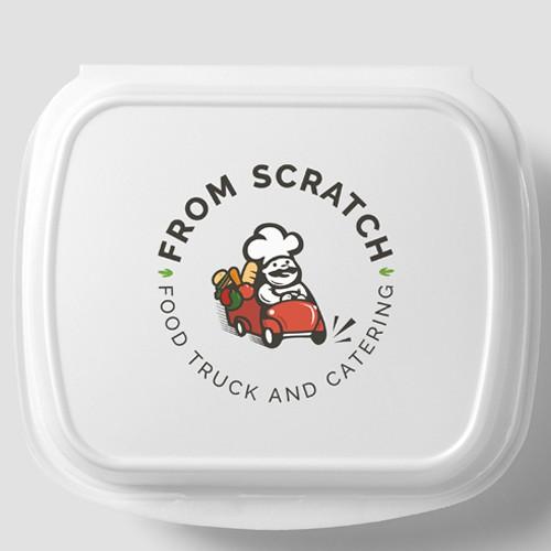 From Scratch - Logo design