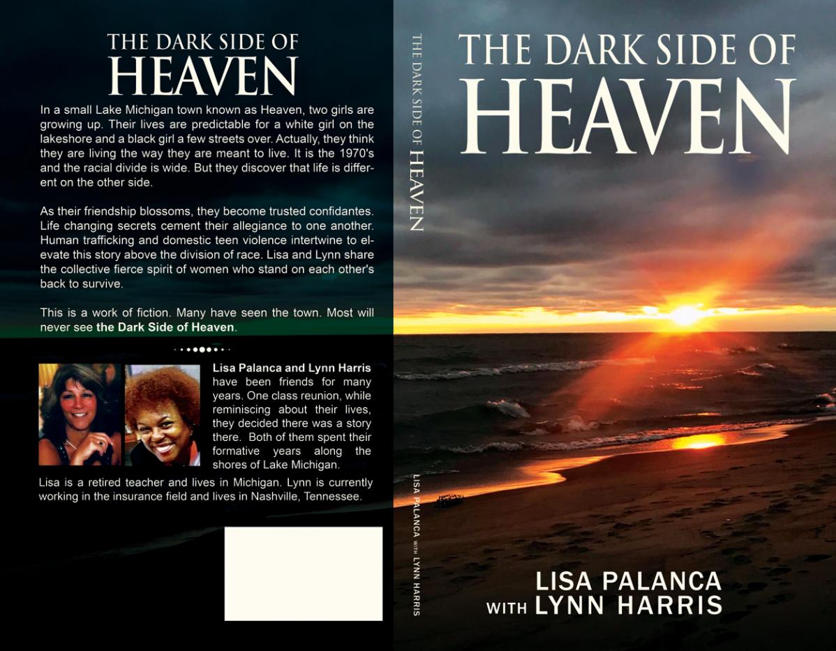 Book cover for novel: The Dark Side of Heaven