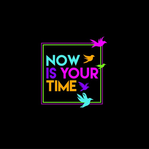 logo now is your time