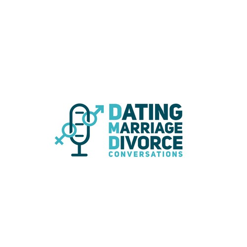Podcast Logo for DMD (Dating, Marriage, Divorce)