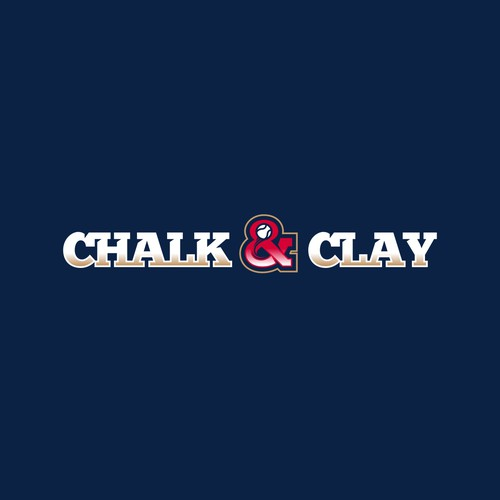 Chalk & Clay logo design