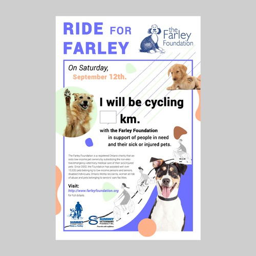 Ride for Farley Poster