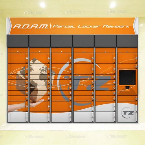 Locker design for ADAM
