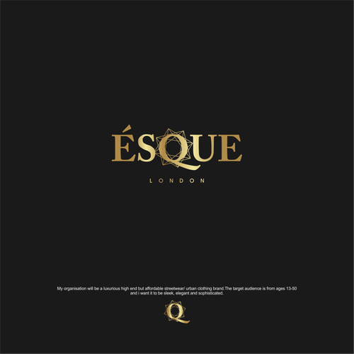Wordmark logo for Esque co.