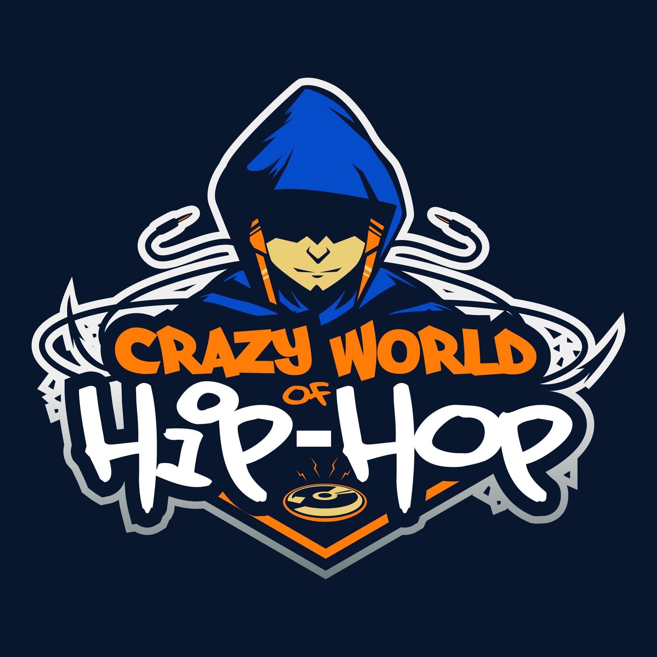 Crazy World of Hip-Hop talk show needs logo for merch & branding