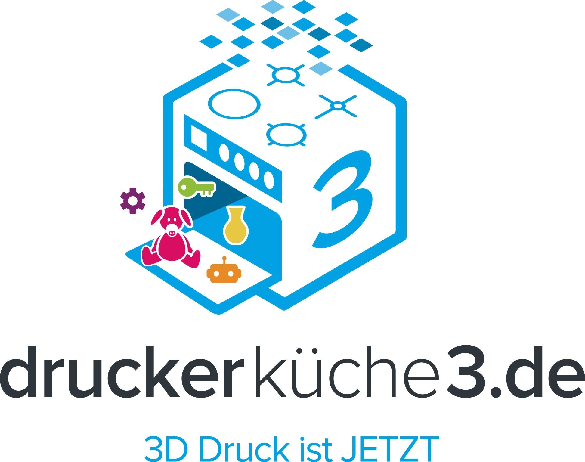 Erstellt ein prägnantes Logo für eine experimentierfreudige 3D Firma
