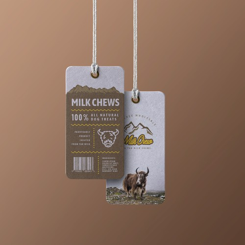 Milk Bone Dog Treat Tag