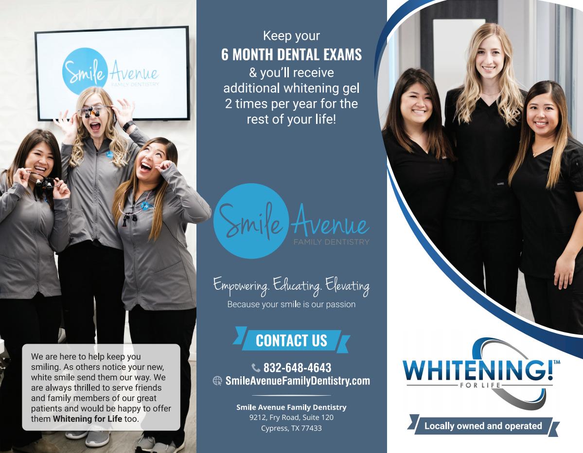 Whitening for life brochure