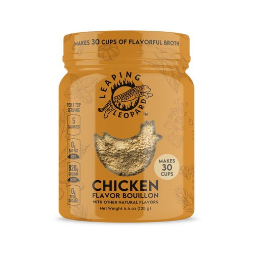 Launch Leaping Leopard Bouillon - An Additional Item to Leaping Leopard Food Enhancers!!