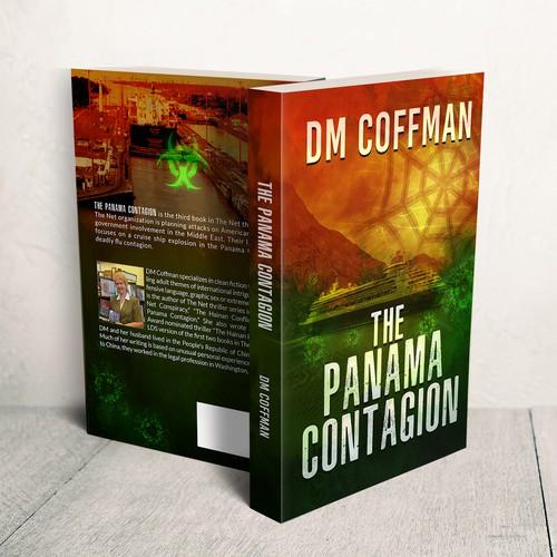 contest Thriller novel series needs Net cover design for book 3