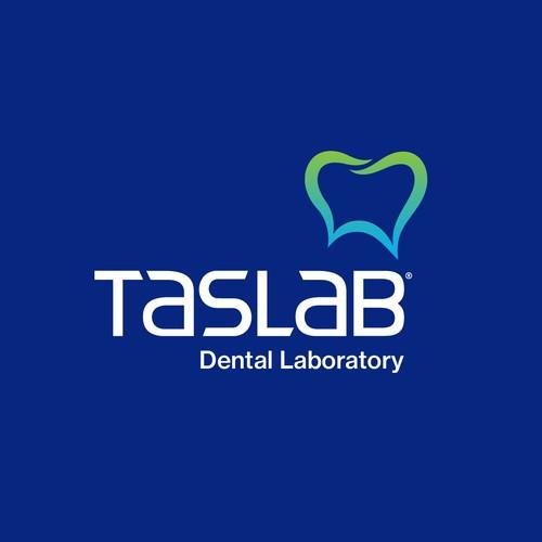 Logo for TASLAB Dental Laboratory