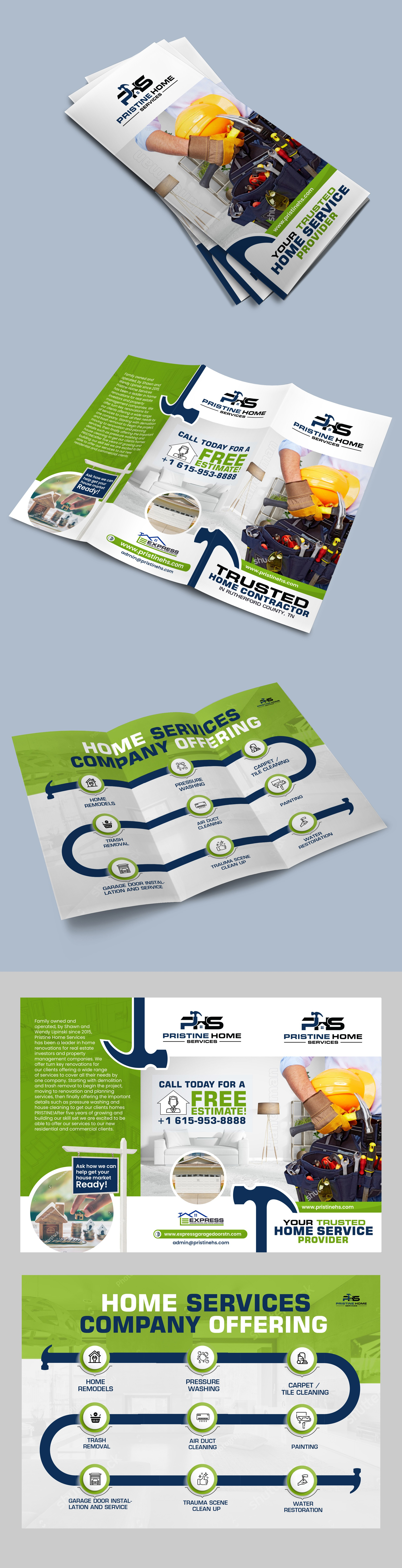 Brochure for Home Services Company