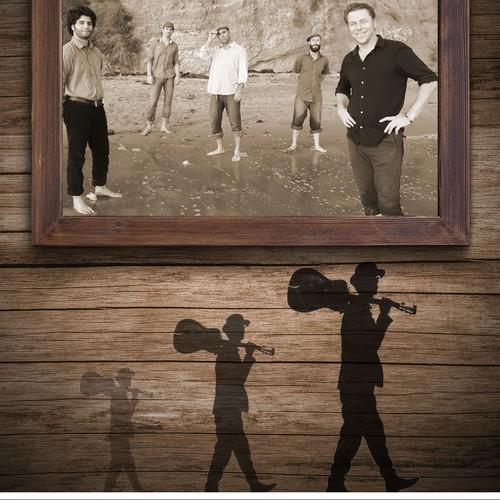 California Honeydrops tour poster design