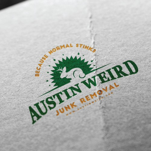 logo for junk removal company