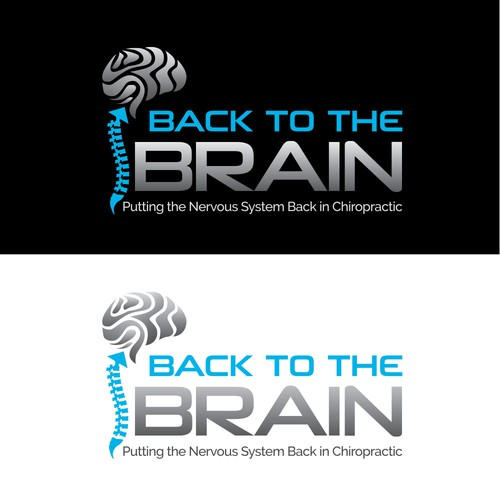 "Logo concept for ""BACK TO THE BRAIN"""