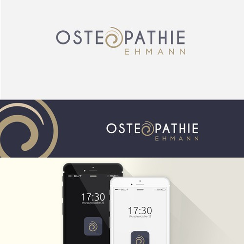 logo for osteopathy practice in Germany