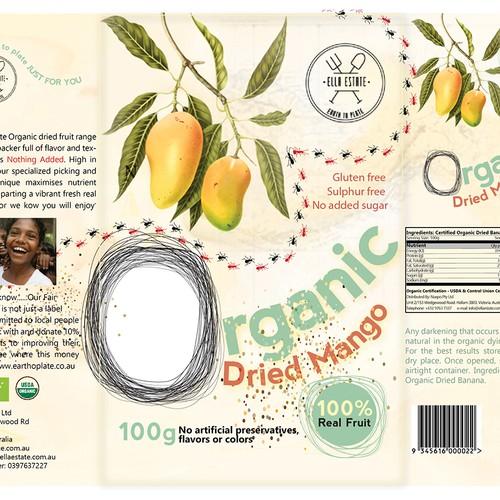 Create a natural design for an Organic Range