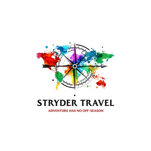 Colourful Stryder Travel logo