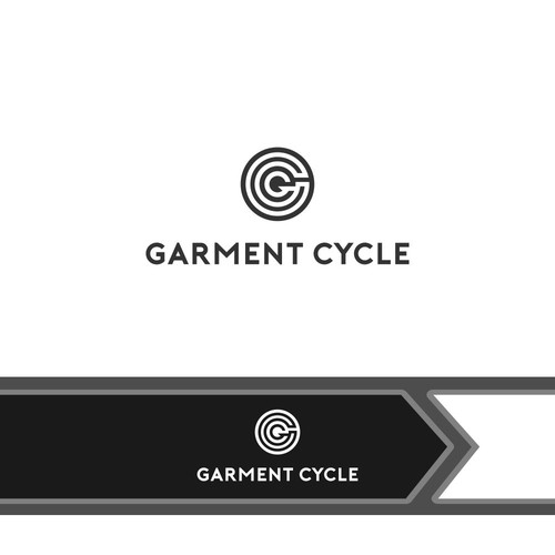 logo concept for garment cycle