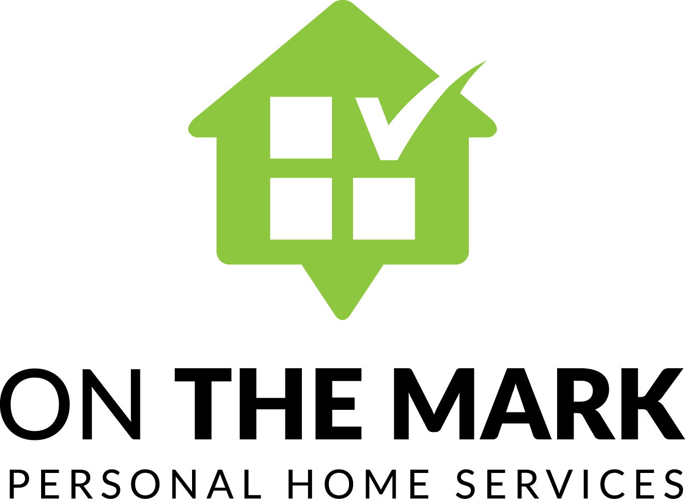 ON THE MARK Personal Home Services - contest design handover