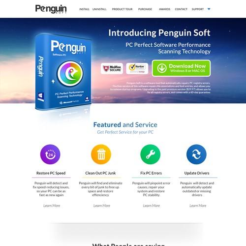 Help Penguin Soft by Designing us a Killer Website!
