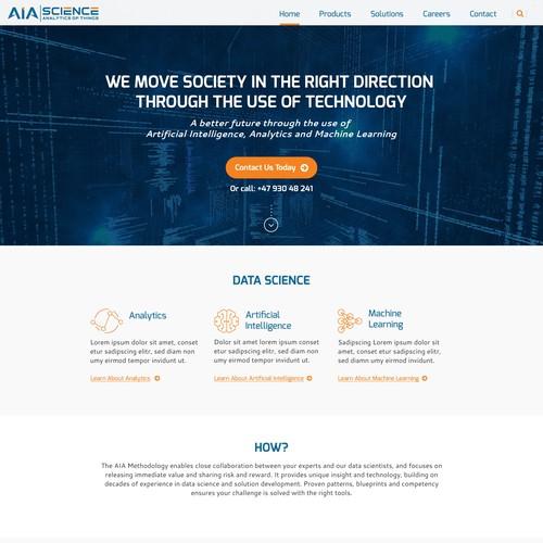 Information Service Website Design