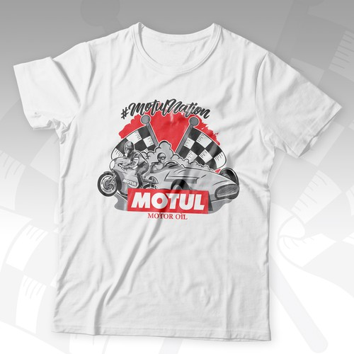 Design a T-Shirt for our Motorsport athletes