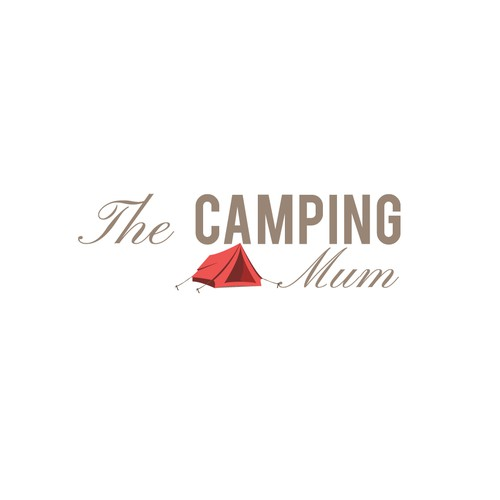 Logo for The Camping Mum blog.