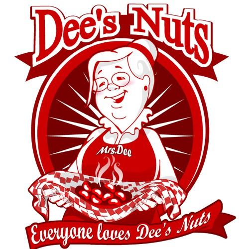 Dee's Nuts  needs a new logo