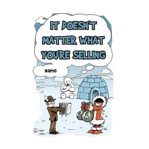 Sales book design