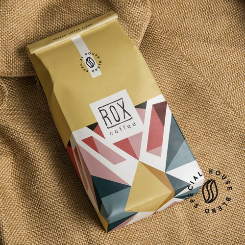 'ROX' Coffee product package design